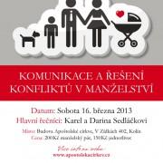 KONFERENCE PRO (NEJEN) MANŽELSKÉ PÁRY 2013